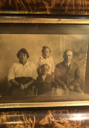 Antique Historical African American Family Photograph for Sale in Los Angeles, CA