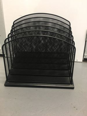 Black Mesh (metal) file holder for Sale in Washington, DC