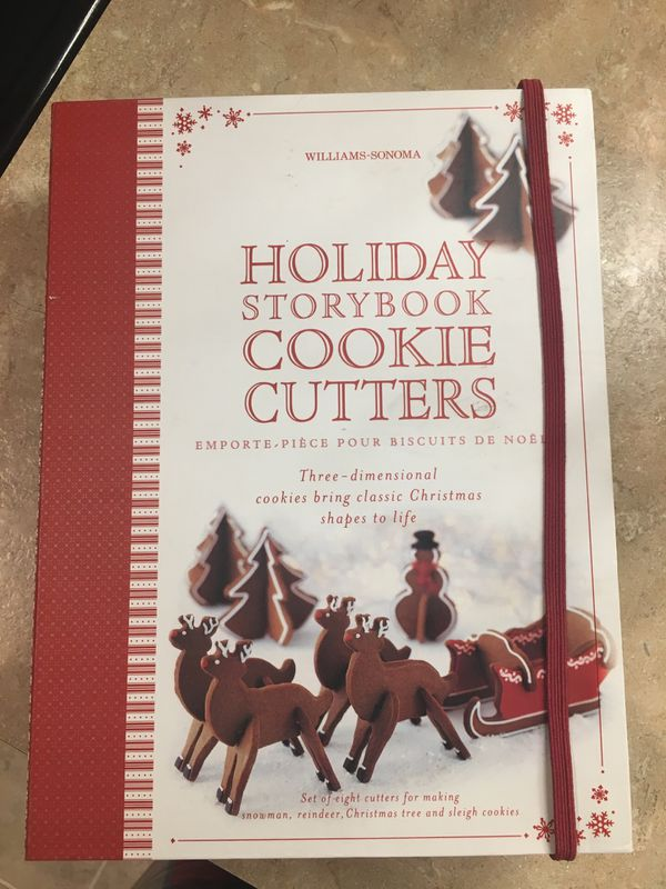 Williams Sonoma Holiday Cookie Cutters For Sale In West
