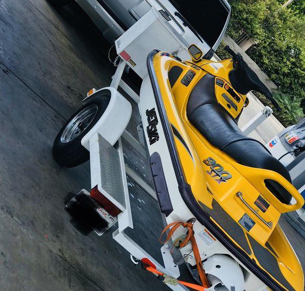 FOR SALE Jet Skit With Trailer Kawasaki STX 900 3 Seater