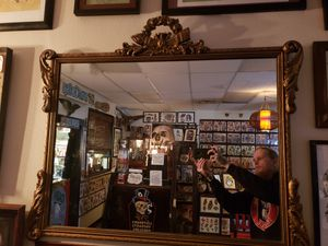Antique Late 1800s Ornate Framed Mirror for Sale in Seattle, WA