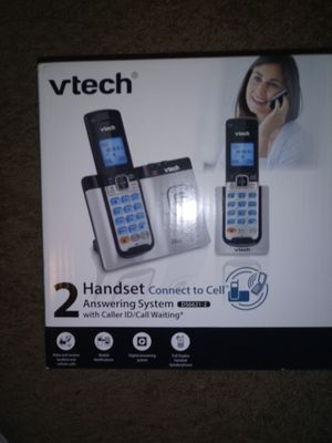 BRAND NEW CORDLESS PHONE W/ ANSWERING MACHINE for Sale in Hagerstown, MD