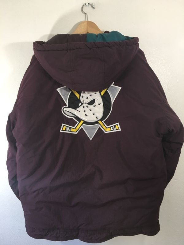Vintage 90s Anaheim Mighty Ducks Hooded Starter Jacket Size Medium NHL  Hockey for Sale in Westminster 061b12316
