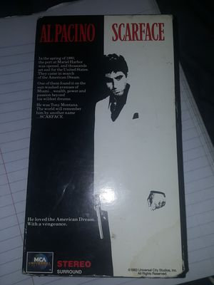 Al Pacino Scarface VHS Collector Edition for Sale in Columbus, OH