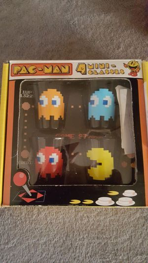 PAC-MAN shot glasses for sale  Rogers, AR