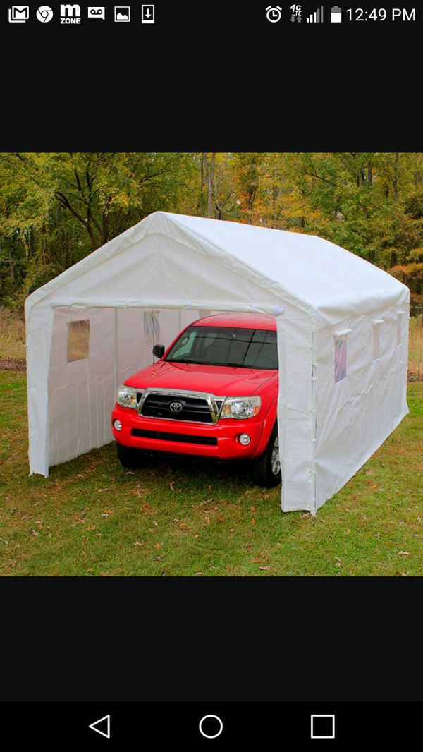 King Conopy Tent ! Hercules Enclosed Snow Load ! for Sale in Fuquay Varina,  NC - OfferUp