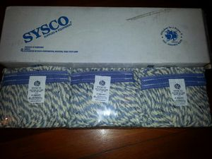 3 pack of sysco cotton cut end mop heads for Sale in Boston, MA