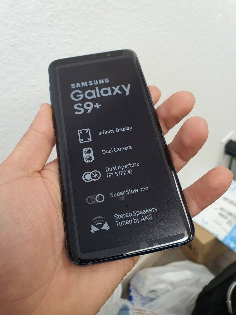 SAMSUNG S9PLUS...64GB   UNLOCK FOR ANY