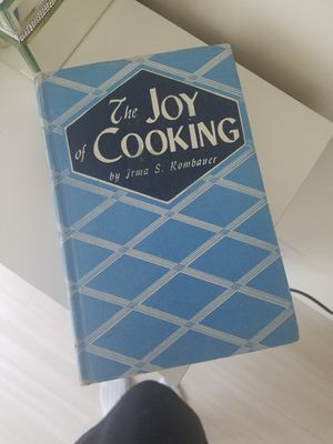 The joy of cooking by Irma S Rombauer for Sale in Seattle, WA