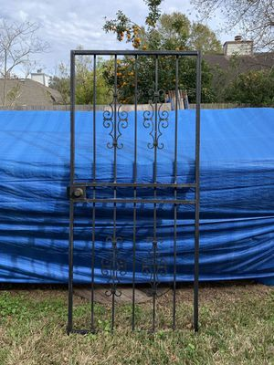 36 inch iron gate for Sale in Sugar Land, TX