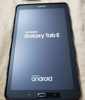 Samsung Galaxy Tab E for Sale in Germantown, MD