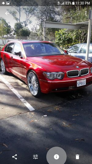 2004 745li Cars Trucks In Claremont Ca Offerup