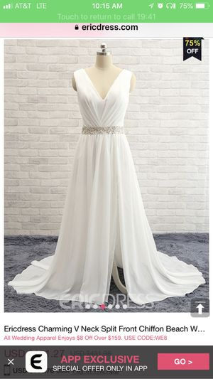 Wedding Dress Brand New For In Amarillo Tx