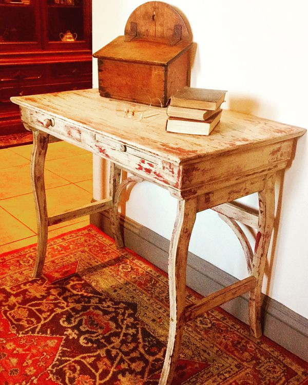 Bakersfield Auto Mall >> Antique chippy painted desk for Sale in Bakersfield, CA - OfferUp