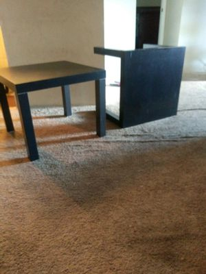Matching black Ikea side tables for Sale in Orlando, FL
