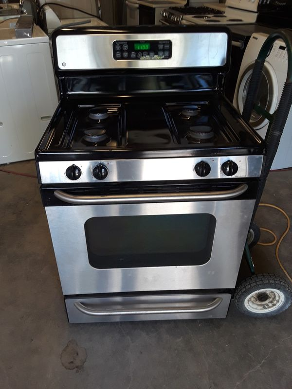G.e stainless steel gas stove for Sale in Austin, TX - OfferUp