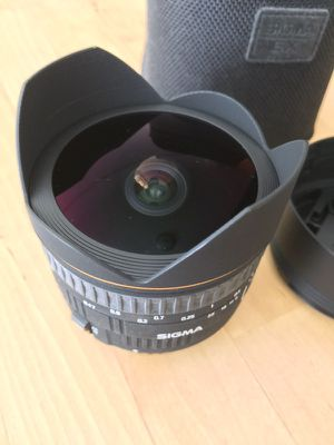 Sigma 15mm f/2.8 EX DG Fisheye Lens for Canon for Sale in San Francisco, CA