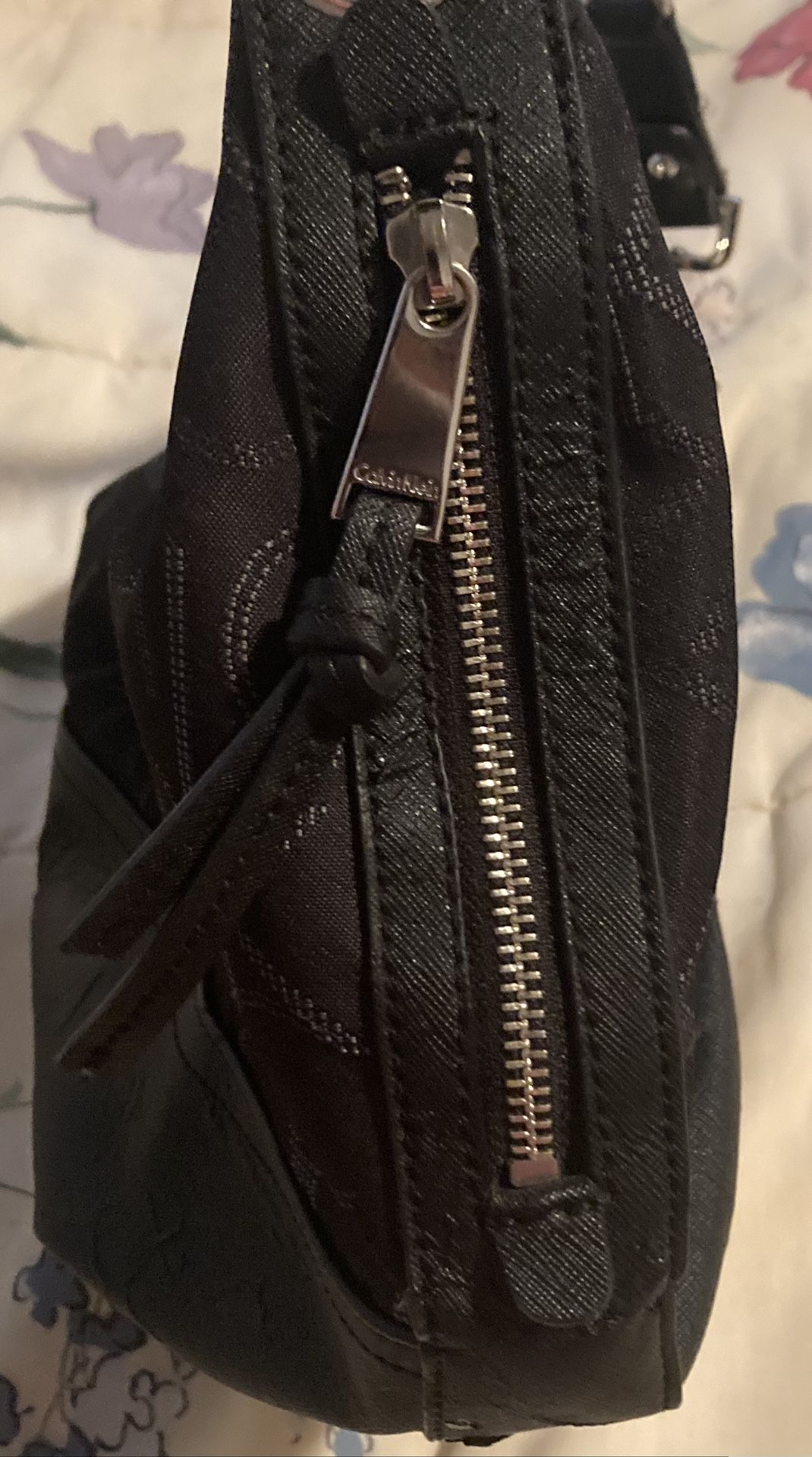 Calvin Klein Shoulder Purse Black