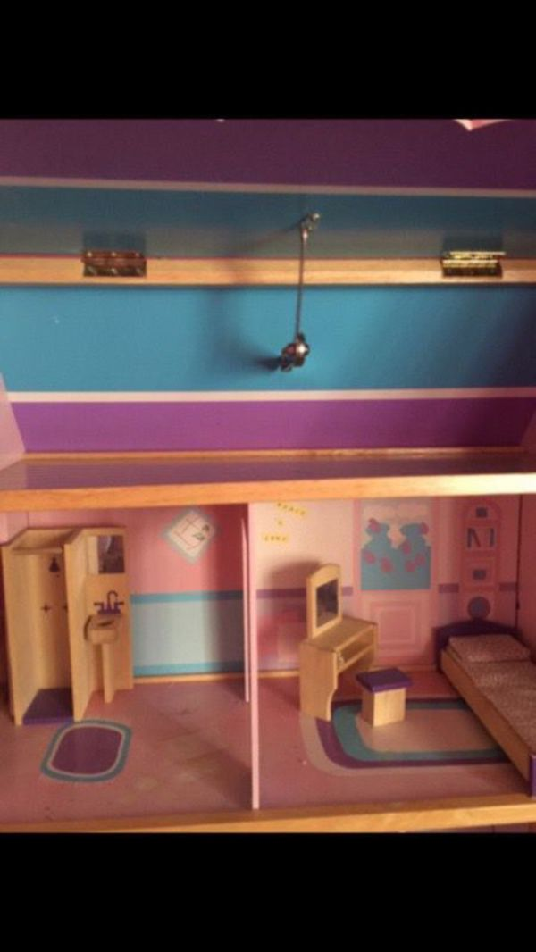 Antique Doll House For Barbie Dream House For Sale In Lauderhill