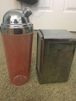 Vintage/Retro Beverage Shaker & Diner Napkin Holder for Sale in Alexandria, VA