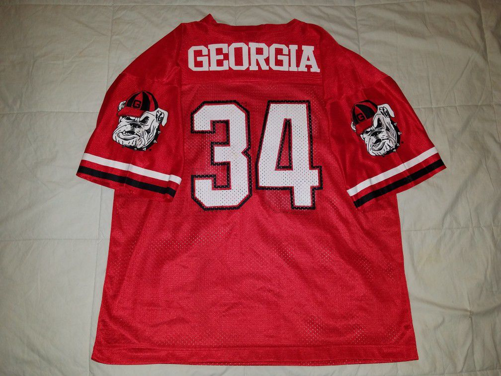 herschel walker throwback georgia jersey