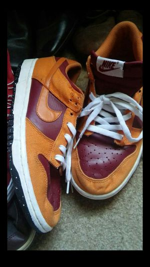 Harvest Fall Nike Dunks Retro low price sale!!! Usually $120 today its $40 off October special size 7 mens buyer comes to me. Price is $80 for Sale in Washington, DC