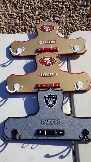 NFL KEY AND COAT HOLDER for Sale in Las Vegas, NV