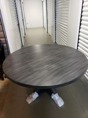 Treasure reclaimed wood round dining table by south cone home furniture for Sale in Chesterfield, VA