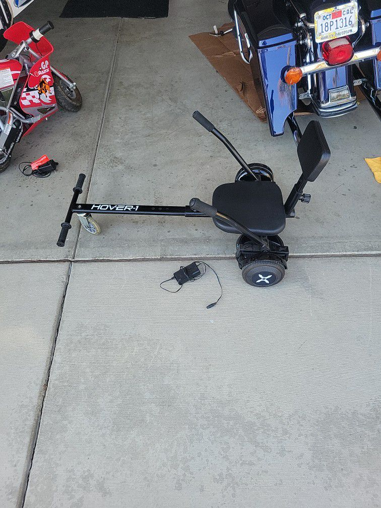 HOVER 1 And Buggy 220 Lb Capacity.  Works Excellent With Charger.