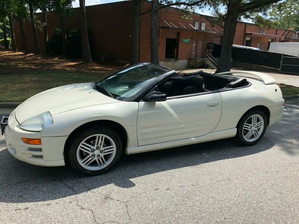 2004 Mitsubishi Eclipse Spyder Gt Convertible