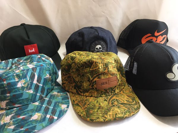 Nike Huf DVS Publish Fear The Sea Hat Collection Lot Of 6 for Sale in  Torrance 2bdf2fd691fa