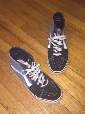 bc96f5c4b454 Vans Sk8-Hi Blue (size 10) for Sale in Chicago
