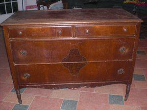 Antique solid cherry wood bedroom set for Sale in Spencerville, MD