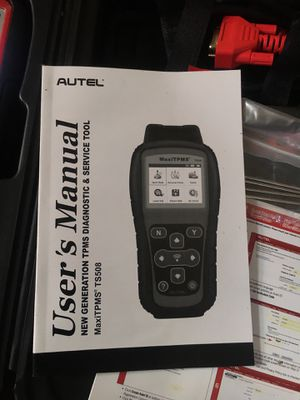 Autel ts508  for Sale in Mint Hill, NC - OfferUp