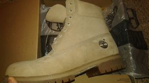 """Timberland Premium 6"""" Boots Monochromatic Tan Sz. 10 New for Sale in San Francisco, CA"""
