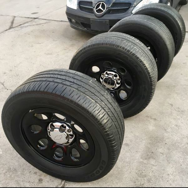 Chevy Tahoe (PPV) Police Pursuit Vehicle Wheels Rims for ...