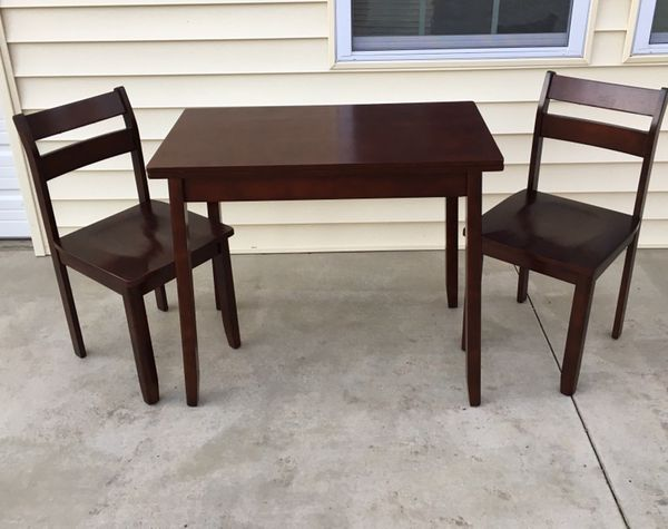 Threshold 3 Pc Expandable Dining Set With Storage Espresso