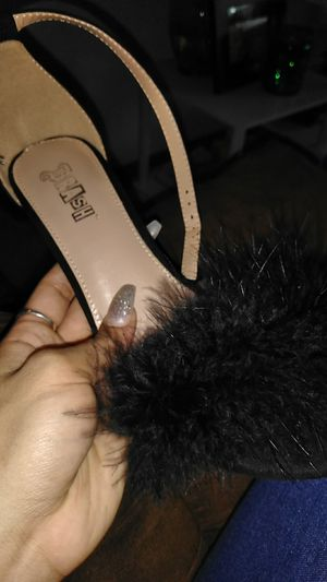 Fur heels for Sale in Columbus, OH