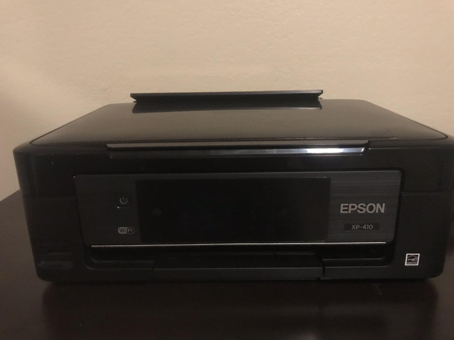 EPSON XP 410 Color Photo Printer/Scanner