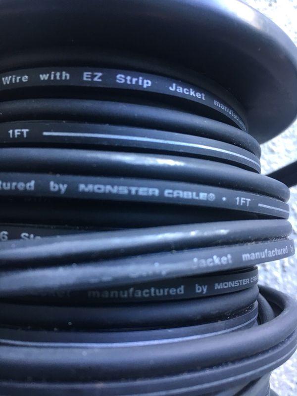 22 Ft roll monster standard 16 Gauge speakers wire for Sale in Salem ...