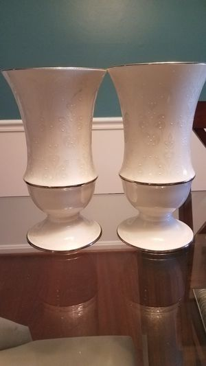 Lenox Opal Innocence large vases for Sale in North Potomac, MD