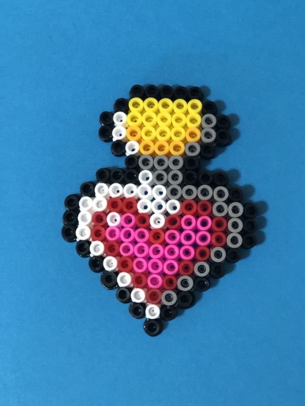 Homemade Harry Potter Love Potion pearler bead