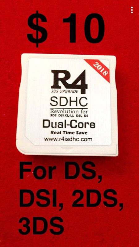 2018 R4 SDHC Dual core card for Sale in Las Vegas, NV - OfferUp