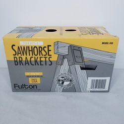 Fulton Sawhorse Brackets- 1 Pair New Thumbnail