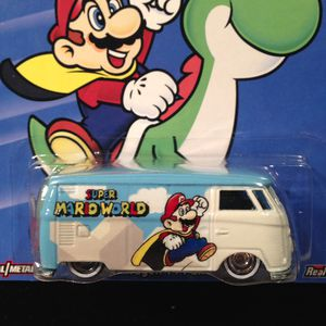 Hot Wheels Pop Culture Super Mario World Volkswagen T1 Panel Bus • Metal/Metal • Real Riders • WILL SHIP NATIONWIDE • for Sale in Fort Worth, TX