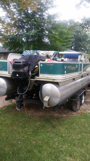 Pontoon Boats For Sale In Ohio Offerup