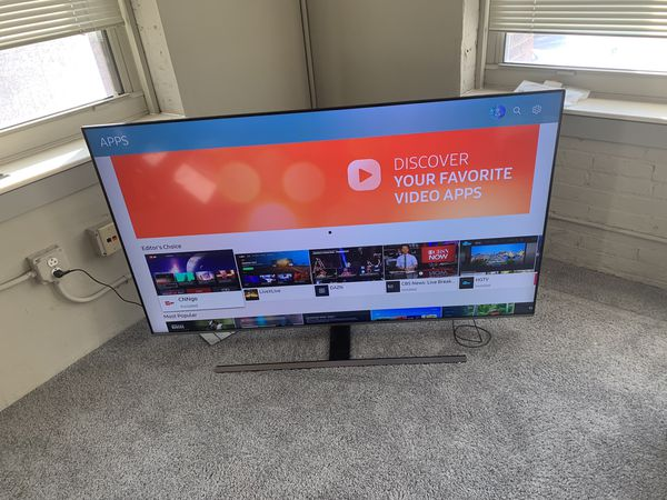 """9152a2aed48 Samsung Flat 65"""" 4K UHD 8 Series Smart Tv (2018) for Sale in ..."""