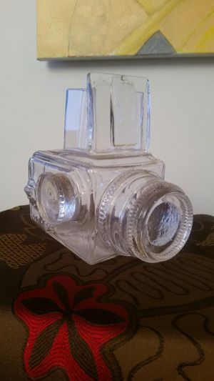 Crystal vintage Hasselblad camera art glass sculpture for Sale in Montgomery Village, MD