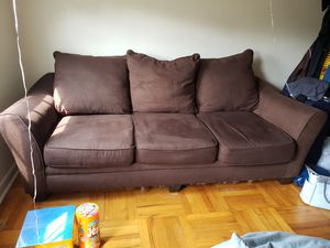 Couch- brown for Sale in Alexandria, VA