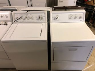 Kenmore Washer&Dryer SuperCapacity 1yr warranty 34yr Same location Credit Cards Welcome Delivery available Thumbnail